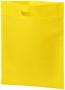 Non woven catalogue carry bag in yellow