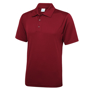 Cool Polo in burgundy with matching coloured buttons