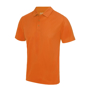 Cool Polo in orange with matching coloured buttons