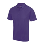 Cool Polo in purple with matching coloured buttons
