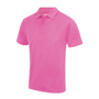 Cool Polo in pink with matching coloured buttons