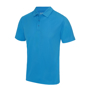Cool Polo in blue with matching coloured buttons