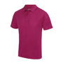 Cool Polo in magenta with matching coloured buttons