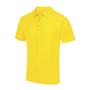 Cool Polo in yellow with matching coloured buttons