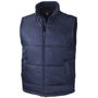 Core Bodywarmer in navy with full zip and 2 pockets on the outside