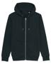 Cultivator Iconic Zip-Thru Hoodie in black