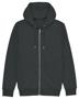 Cultivator Iconic Zip-Thru Hoodie in dark grey