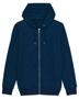 Cultivator Iconic Zip-Thru Hoodie in blue