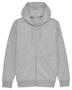 Cultivator Iconic Zip-Thru Hoodie in grey