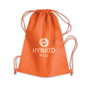 Daffy Bag in orange with 1 colour logo