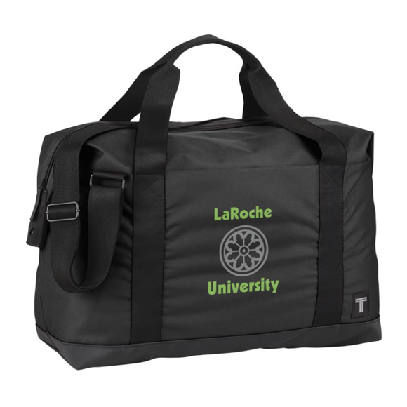 "Day 17"" Duffel Bag in black with 2 colour print logo"