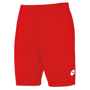 Delta shorts to match Delta jersey in red with 1 colour print on left hand side of left leg
