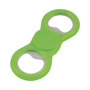 dizzy duo spinner with bottle opener in green