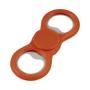 dizzy duo spinner with bottle opener in orange