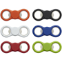 6 dizzy due spinners with bottle opener in 6 different colours