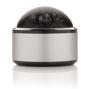 silver dome bluetooth speaker