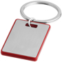 rectangular red donato keyring