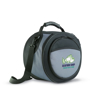 Donau BBQ Cooler Bag in black and grey with 4 colour print logo