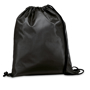 Draw string sports bag with black strings