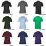 DryBlend Sport Short Sleeve Polo Shirt with 2 colour match buttons