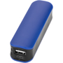 Black and blue power bank