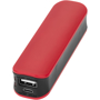 red and black power bank