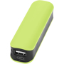 green and black power bank