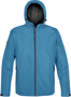 Endurance Thermal Softshell in blue with full zip and hood