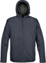 Endurance Thermal Softshell in navy with full zip and hood
