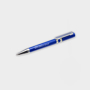 ballpen made from recycled cd case in blue