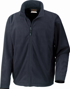 Extreme Climate Stopper Fleece in navy with full length zip