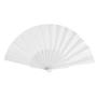 Fabric Tela Fan in white