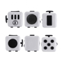 All six sides of the black and white fidget cube