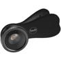 Fisheye Lens with Clip in black