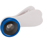 Fisheye Lens with Clip in white with blue trim