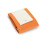 Fold up bag in orange and white