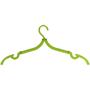green travel coat hanger