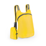 yellow foldable ledor backpack with a small yellow pouch