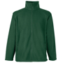 FOTL Full Zip Fleece in green with self-coloured zips to front and pockets
