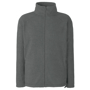 FOTL Full Zip Fleece in grey with self-coloured zips to front and pockets