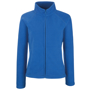 FOTL Lady-Fit Full Zip Fleece in blue with cadet collar and self-coloured zips