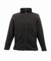 Full Zip Microfleece in black with 2 zipped lower pockets