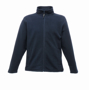 Full Zip Microfleece in navy with 2 zipped lower pockets