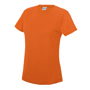 Girlie Cool T in orange with crew neck