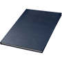 A5 hard backed notebook in blue