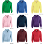 Heavy Blend Full Zip Sweatshirt with pouch pockets, unlined hood and drawstrings