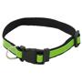 black high visibility dog collar