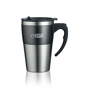 Highland Mug in black and silver with 1 colour print logo