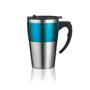 Highland Mug in blue and silver