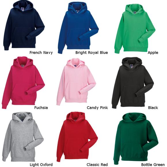 Russell Kids Hooded Sweatshirt